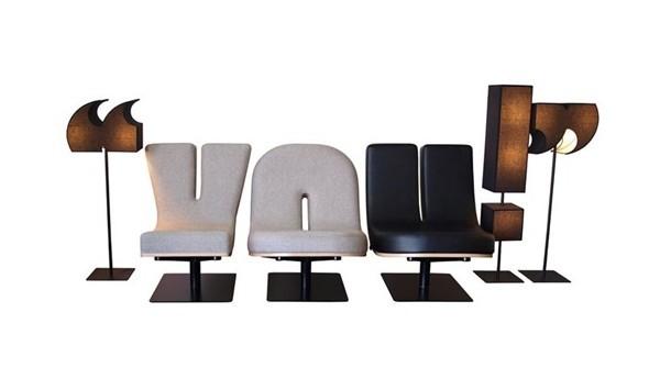 有趣的字母沙发设计(三)