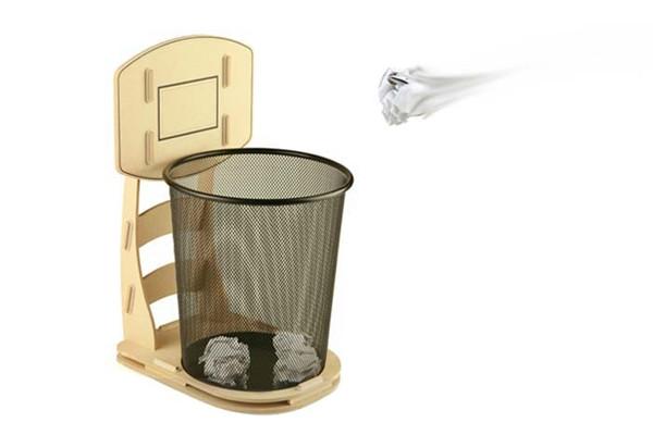 趣味篮筐式垃圾桶