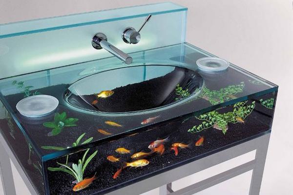 水族馆洗手池(三)