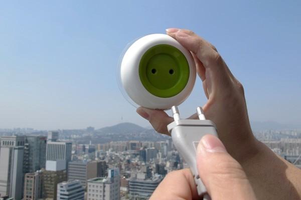 强大的窗口太阳能插座(三)