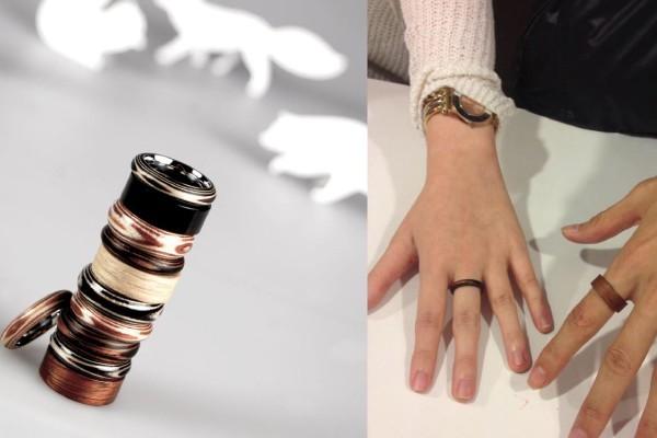创意木头优雅戒指(三)