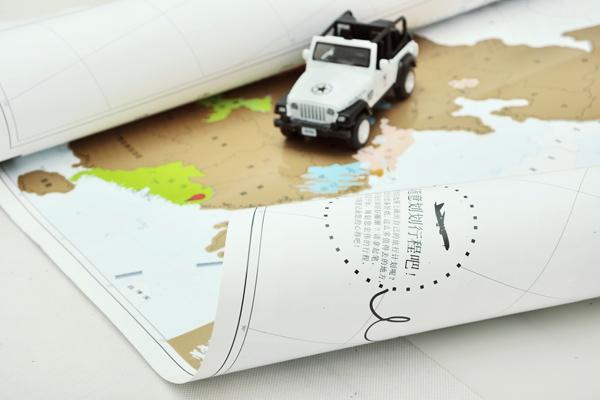 旅行人生地图