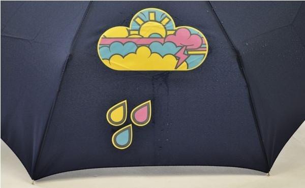 神奇云朵遇水变色伞(三)