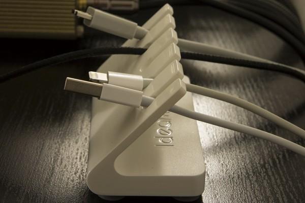 简洁各种线的缆收纳器(四)