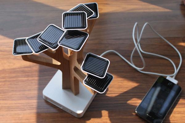 XDDESIGN树形太阳能充电器(二)