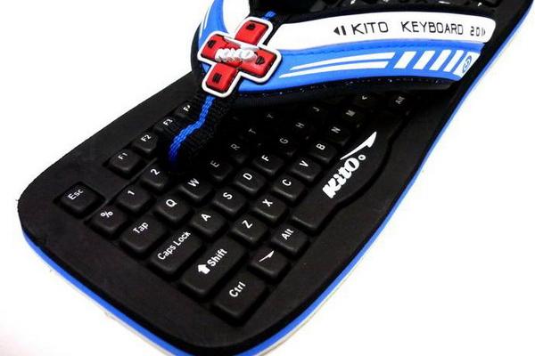 很酷的键盘拖鞋(二)