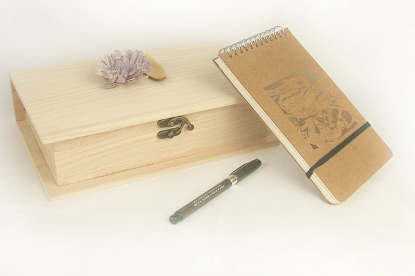 烙画烫画书本木盒