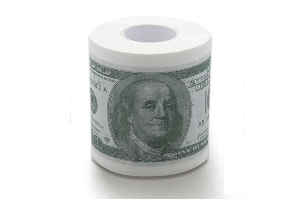 新奇恶搞钞票厕纸(二)