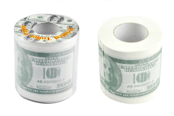 新奇恶搞钞票厕纸(三)