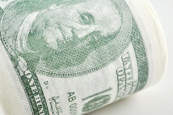 新奇恶搞钞票厕纸(四)
