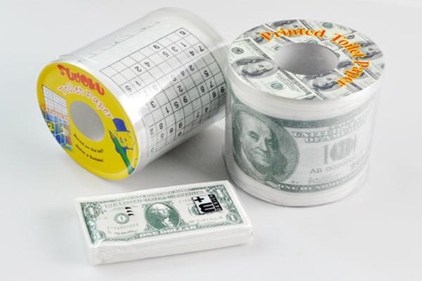 新奇恶搞钞票厕纸(五)