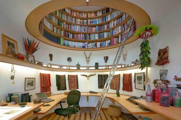 家里的空中图书馆