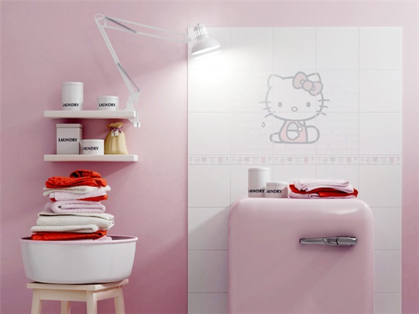 Hello Kitty迷人的创意瓷砖(三)