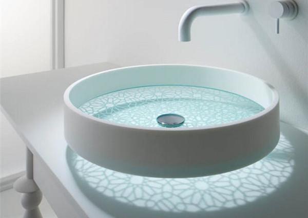 创意光影洗手池(三)