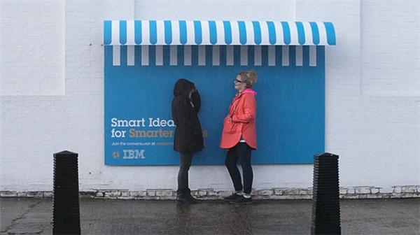 激发创意分享的IBM广告牌(三)