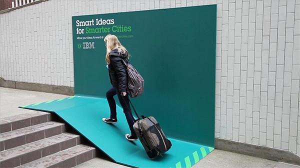 激发创意分享的IBM广告牌(四)