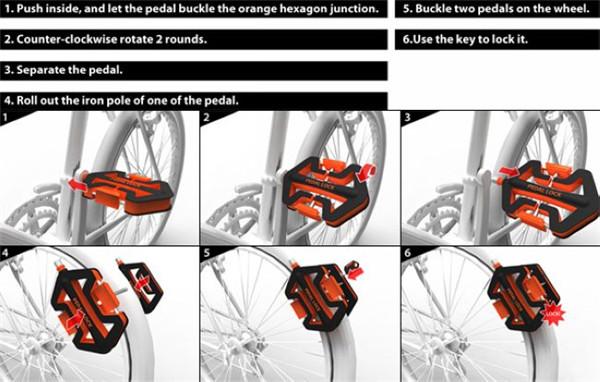 踏板车锁(三)