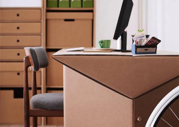 新奇的纸板家具(二)