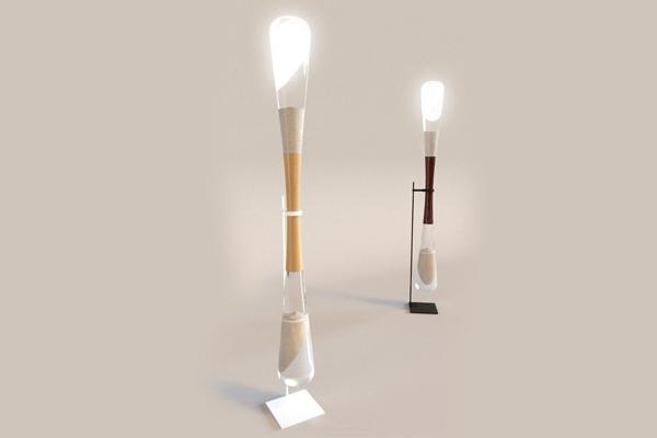 沙漏动力供电灯(二)