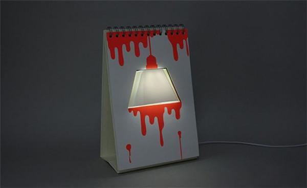 点缀你的桌面——翻页台灯