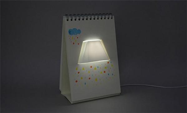 点缀你的桌面——翻页台灯(四)