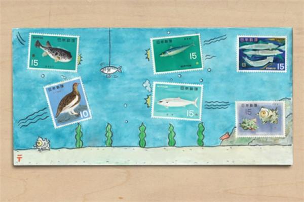 有趣的手绘信封(六)