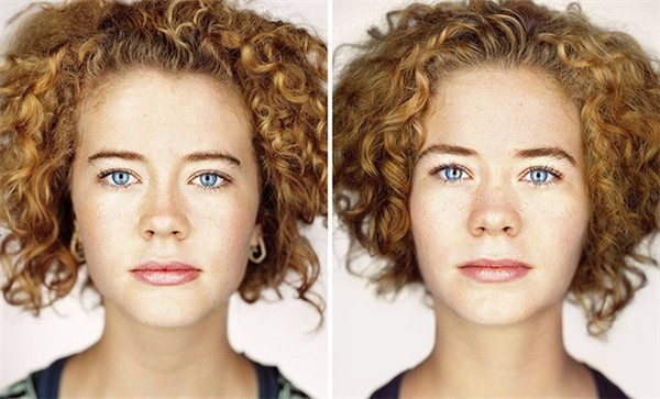 有趣的双胞胎肖像照(二)