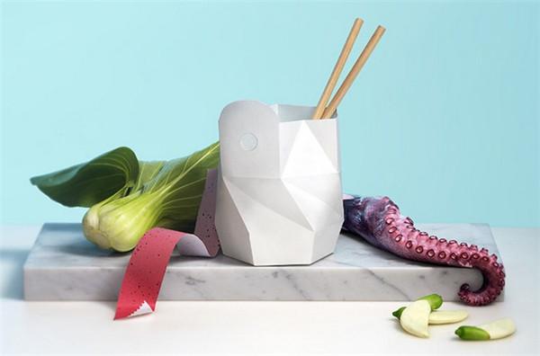 折纸式环保泡面碗(四)