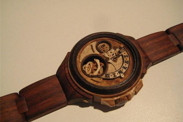 手工帝的全木雕刻手表(五)