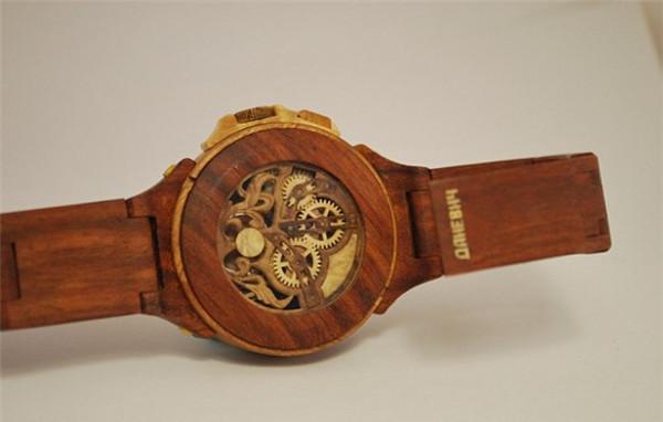 手工帝的全木雕刻手表(六)