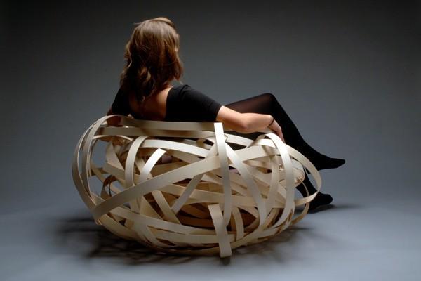 优雅鸟巢椅