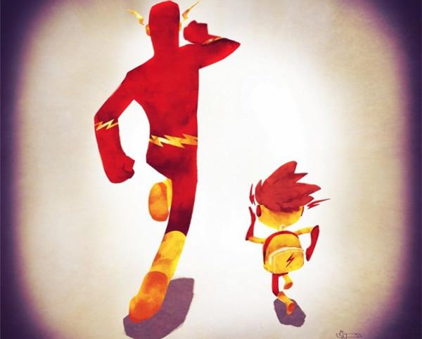 领孩子上学的超人英雄们(二)