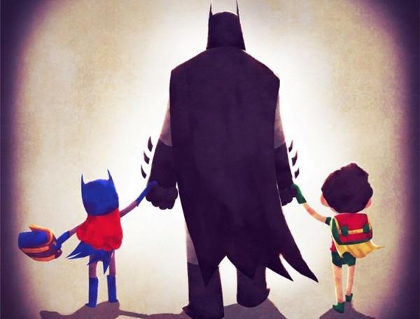 领孩子上学的超人英雄们(四)