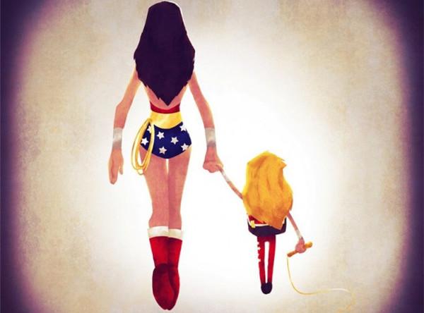 领孩子上学的超人英雄们(五)