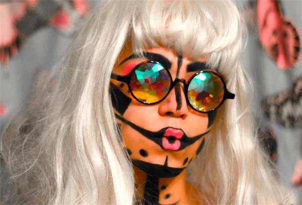 奇妙的多彩万花筒眼镜(四)