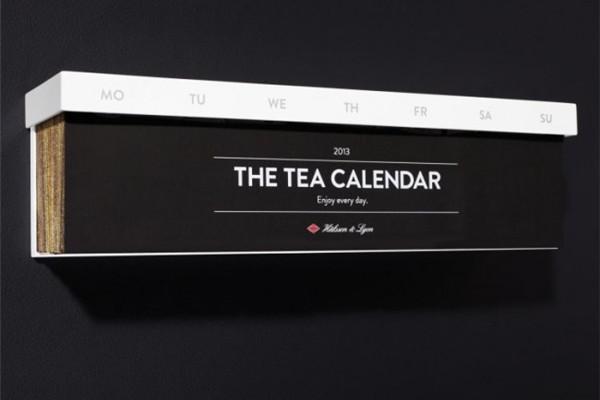 创意爆表的茶片日历