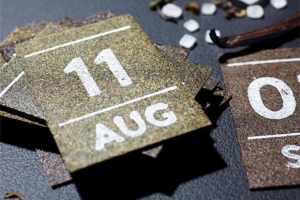 创意爆表的茶片日历(五)