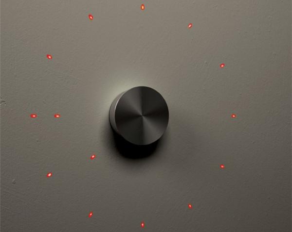 概念激光投影挂钟
