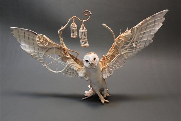 超级奇幻的神秘雕塑