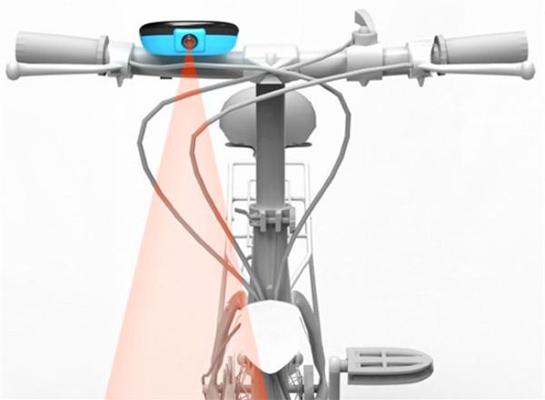 激光投影式自行车导航仪