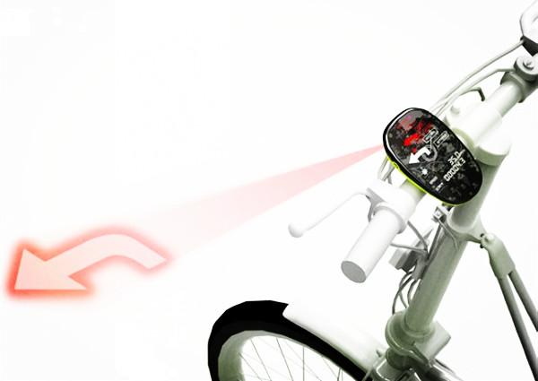 激光投影式自行车导航仪(二)