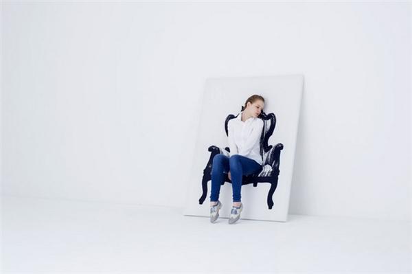 有趣的壁挂式帆布座椅