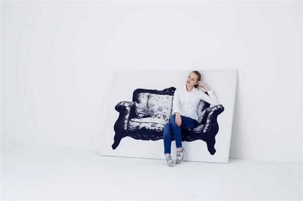 有趣的壁挂式帆布座椅(四)