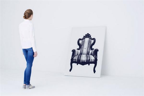 有趣的壁挂式帆布座椅(五)