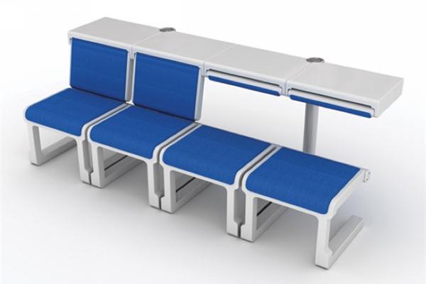 多变的机场友爱座椅