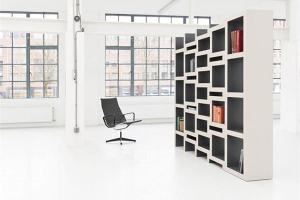 可调节的方块书柜(二)