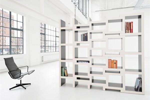 可调节的方块书柜(三)