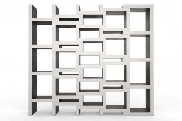 可调节的方块书柜(五)