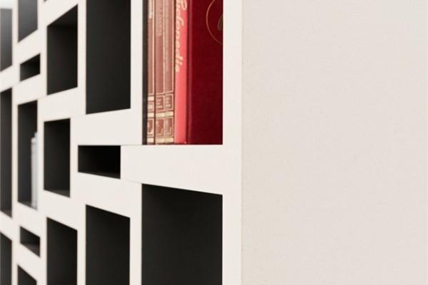 可调节的方块书柜(六)