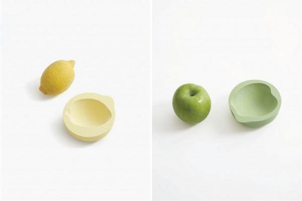 很可爱的蔬菜印记碗(三)